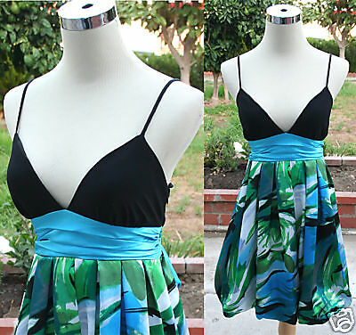 NWT ALEX /& SOPKIA $110 Navy Party Dance Prom Dress 5
