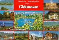 Alte Ansichtskarte Postkarte Chiemsee Mehrbild 1996 farbig