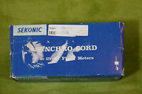 Sekonic Synchro Cord For Flash Meters 401-801 ???? P02