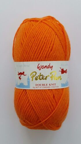 50g Peter Pan Double Knitting DK Wool//Yarn All Colours
