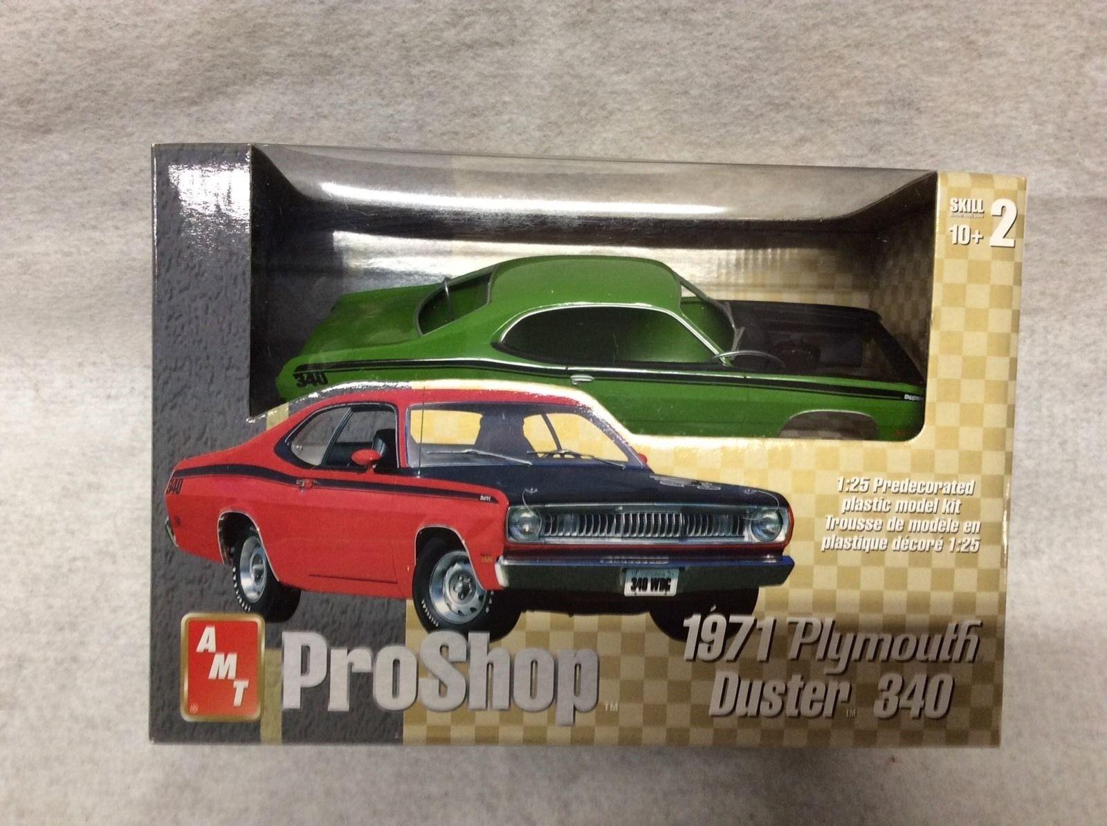 Das pro - shop 1971 plymouth duster 340 1  25 modell kit   31949 proshop neue versiegelt