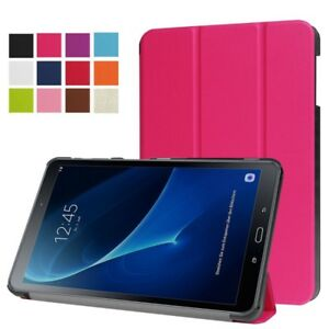 Smart-Cover-Rosa-Funda-para-Samsung-Galaxy-Tab-a-10-5-T590-T595-Funda-Wake-Up