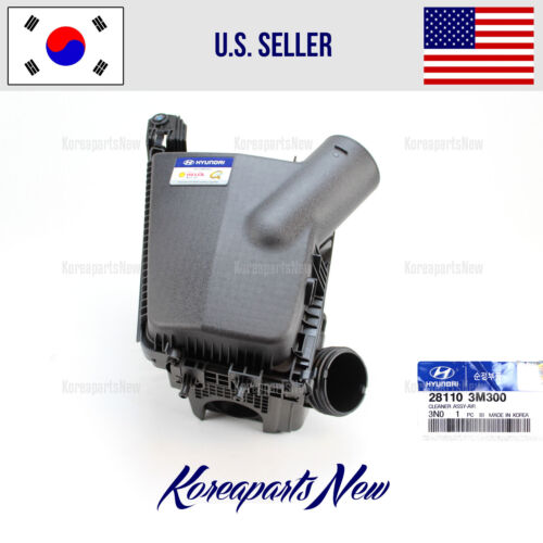 AIR CLEANER INTAKE 281103M300 HYUNDAI GENESIS SEDAN V6-3.8L 2012-2014 GENUINE
