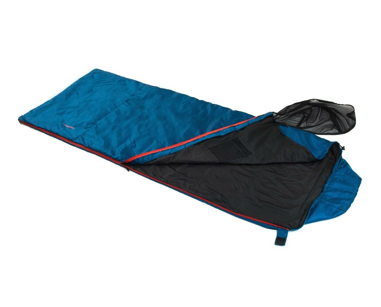 Sleeping bag with mosquito net snugpak travelpak traveller of   lowest prices