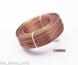 1Roll-95meters-15Gauge-1-5mm-Aluminum-Wrap-Craft-Wire-Jewelry-Making-Deep-Copper