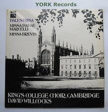 HQS 1237 - PALESTRINA - Missa Papae Marcelli KINGS COLLEGE CHOIR - Ex LP Record