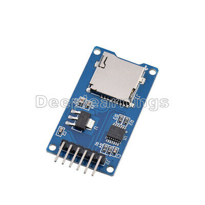 10PCS Micro SD Storage Board SD TF Card Memory Shield Module SPI For Arduino