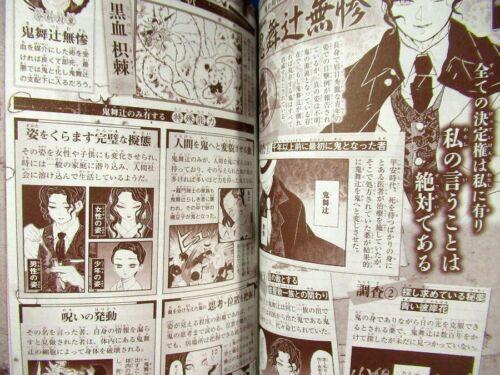 Demon Slayer Kimetsu no Yaiba Official Fan Book Kenbunroku //Japanese Book Japan
