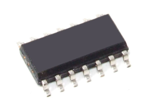 Stmicroelectronics T74LS125A LS125 Low Enable Quad 3-state Buffer SMD Ic SO-14