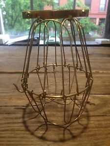 Wire Light bulb Cages 100 pieces in total Used | eBay
