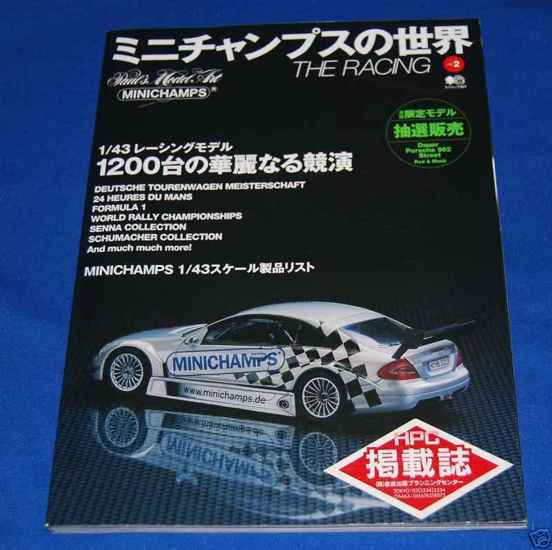 Giga spécial Phot album MINICHAMPS World Ver deux Racing