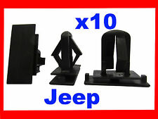 10 Jeep Grand Cherokee Liberty coche Rocker Panel parachoques Fender Fascia Clip 51e
