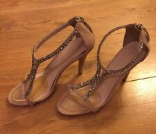 Aldo Women's Balanello Strappy Diamanté Heels Size 5