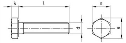 DIN 933 Sechskantschrauben Vollgewinde M2 - M3 M3 M3 Edelstahl A2 A4 diverse Längen | Günstigen Preis  ee9c48