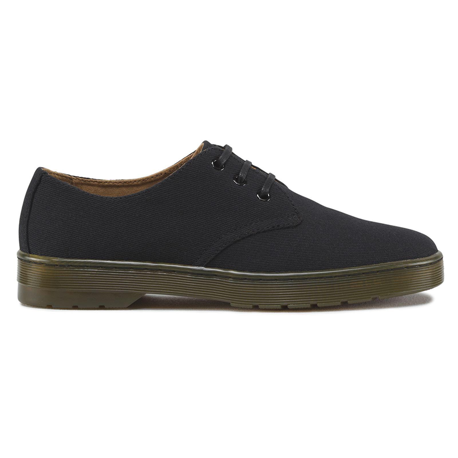 Dr.Martens Delray 3 Eyelet Black Mens Shoes