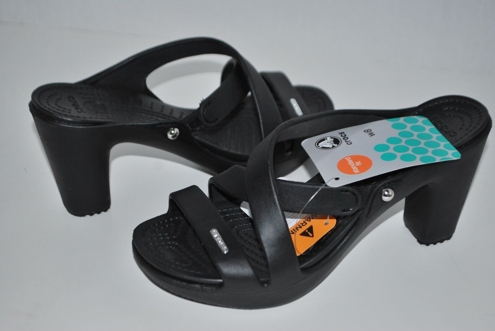 NWT CROCS CYPRUS IV BLACK ESPRESSO BROWN LEOPARD shoe Sandales heels shoe LEOPARD 7 8 9 10 wmn 49cbaf