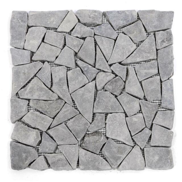 Berühmt Divero Marmor Naturstein Mosaik 11 Fliesen Wand Boden Bruchstein YR96