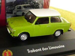 1-43-ATLAS-RDA-Voiture-Collection-Trabant-601-Limousine-Vert-7230-001