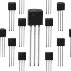 10 x BC212 PNP Transistor TO-92-1st Class