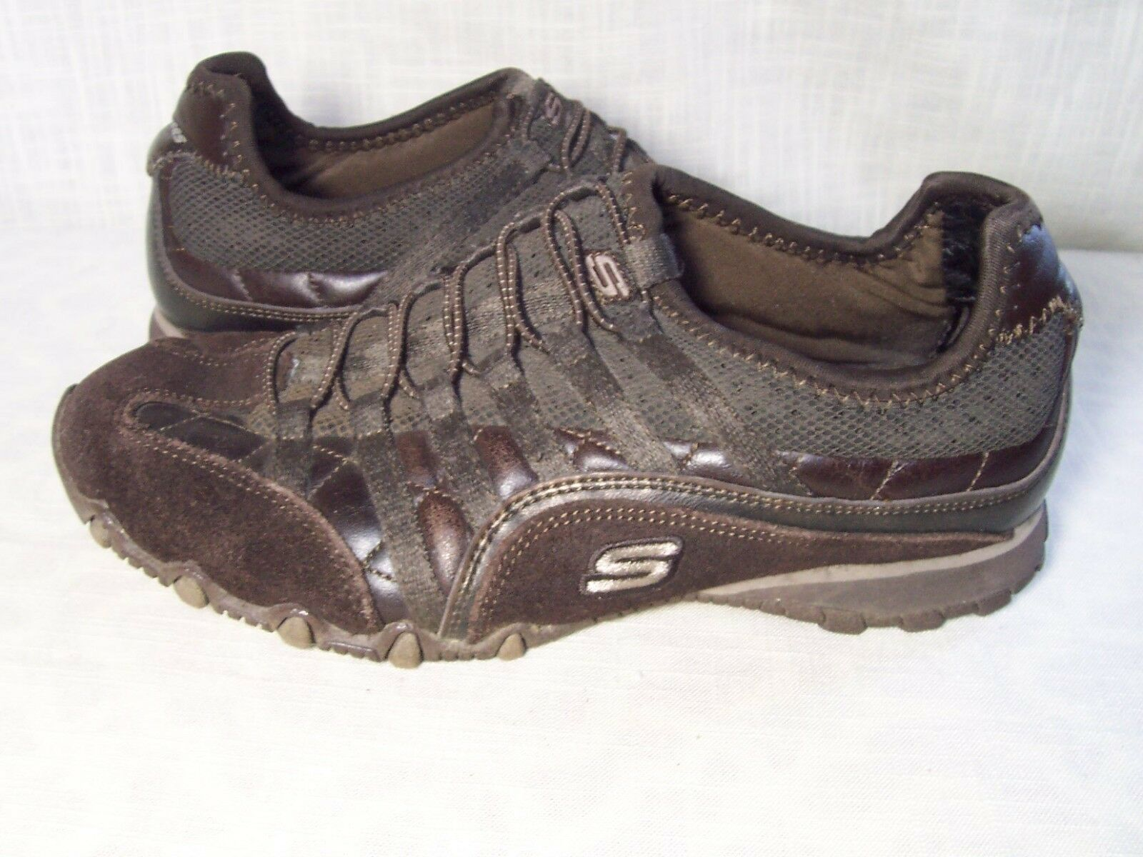 Skechers Brown Tennis Shoes Womens 6 Special limited time