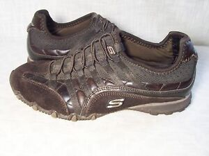 Skechers Brown Tennis Shoes Womens 6