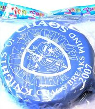 "Souvenir 10"" Krewe Knights of Chaos Vinyl Parade Throw Mardi Gras New Orleans"