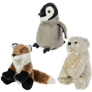 Wild Republic Cuddlekins Plush Toys Stuffed Zoo Animals Boy Girl Baby Kids Adult
