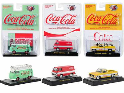"/""COCA-COLA BATHING BEAUTIES/"" SET OF 3 CARS 1//64 DIECAST M2 MACHINES 52500-BB02"