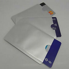 10 RFID Blocking Sleeves, Card Protector, Credit Card Secure Protection Shield