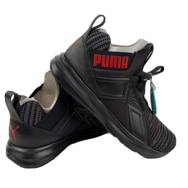 Scarpe Puma Enzo Bold Knit Jr Taglia 37 191403 01 Nero
