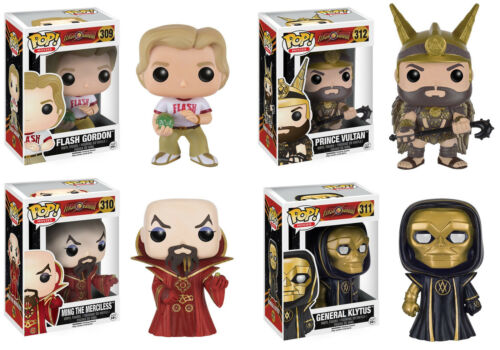 Movies ~ FLASH GORDON VINYL FIGURE SET ~ Ming Klytus Flash Vultan Funko POP