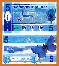 England,s Transition Town 2010 *STONEHOUSE* 5 Pounds UNC