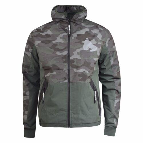 Veste Homme Camouflage APE Argent Vêtements Avec Fermeture à Glissière Manteau