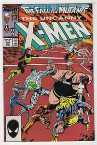 Uncanny-X-Men-225-Jan-1988-Marvel-The-Fall-of-the-Mutants-Freedom-Force-X