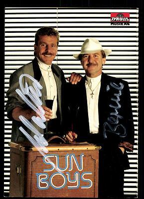 Original, Nicht Zertifiziert KöStlich Sun Boys Autogrammkarte Original Signiert ## Bc 48074 Geschickte Herstellung Musik