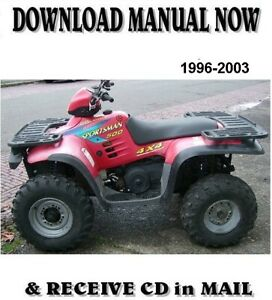 1998 Polaris Sportsman 400 500 Factory Repair Shop Service Manual On Cd Ebay