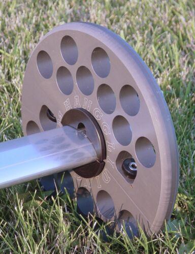"""8/"""" Whoosh!Wheels for Moyes aluminum airfoil basetube"""