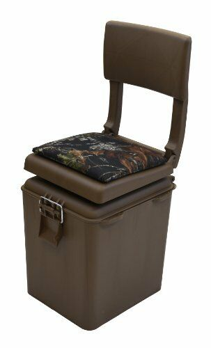 Outdoors Super Sport Hunting Seat  Insulated Cooler Brown Break Up Camouflage  wholesale cheap