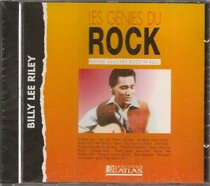 MUSIQUE-CD-LES-GENIES-DU-ROCK-EDITIONS-ATLAS-BILLY-LEE-RILEY-N-33