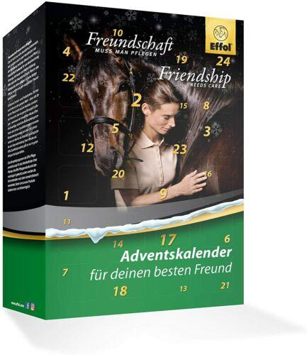 Effol Pferd Adventskalender 2020 Pferd /& Reiter Kalender Pflege Kosmetikprodukte