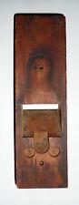 JESUS Shape Silhouette Image Pareidolia Illusion VINTAGE Old Wooden Plane Body
