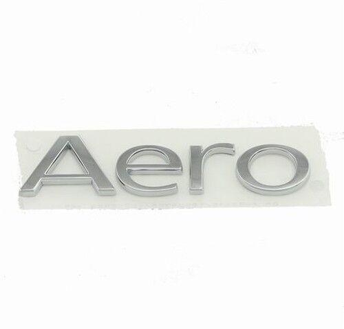 "Original Saab 9-3 Heck "" Aero "" Logo 2004-2012 Cabrio - Brandneu 12804322"