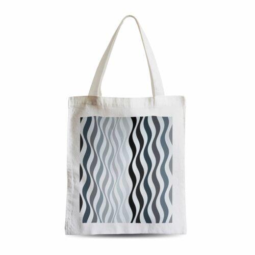 Sac Shopping Arrest 2 Bridget Riley Art Moderne Op Art Avant Garde Motif Design