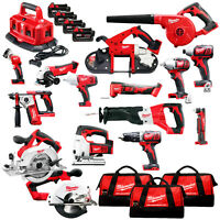 Milwaukee 2695-15 M18 18-volt Cordless Power Lithium-ion 15-tool Combo Kit on sale