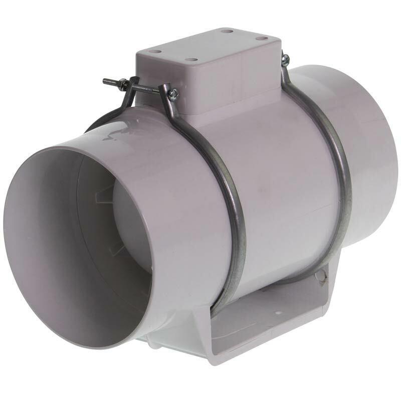 Ventilador de tubo turbo 180m³ - 100mm