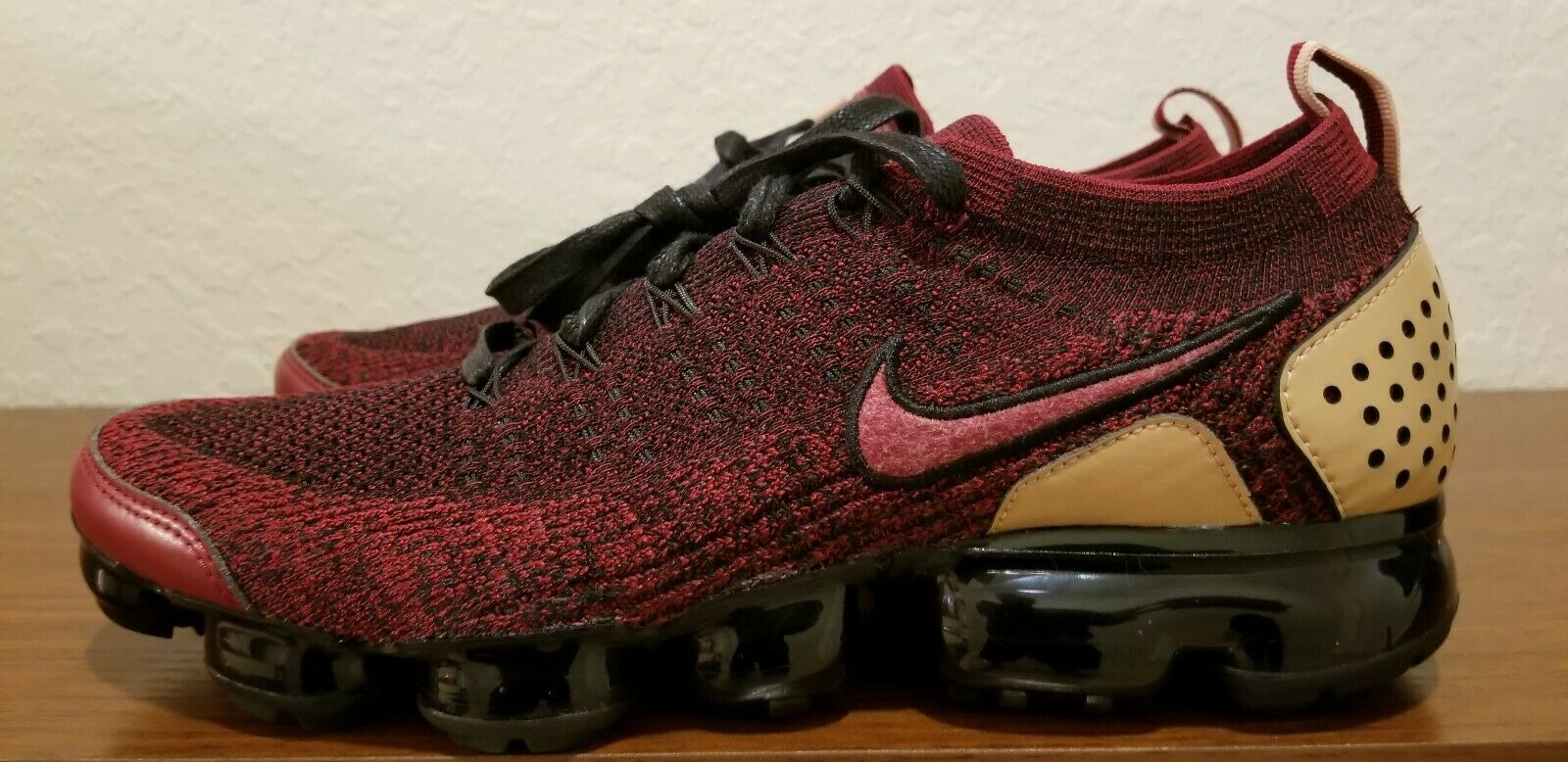 NEW Nike Nike Nike Air VaporMax Flyknit 2 NRG Team Red Black AT8955-600 Men's Size 11 761275