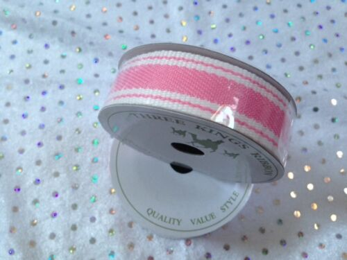 var designs /& colours BABY Mini Ribbon Reels 9 to 27mm Pink Blue Gingham Lace