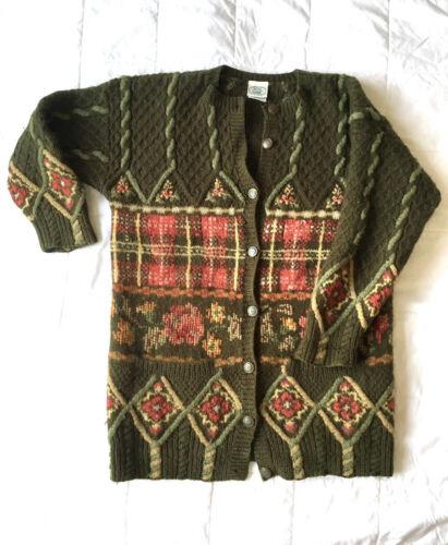 size 14 fine textured 100/% wool lightweight smart jacket-blazer Laura Ashley Vintage