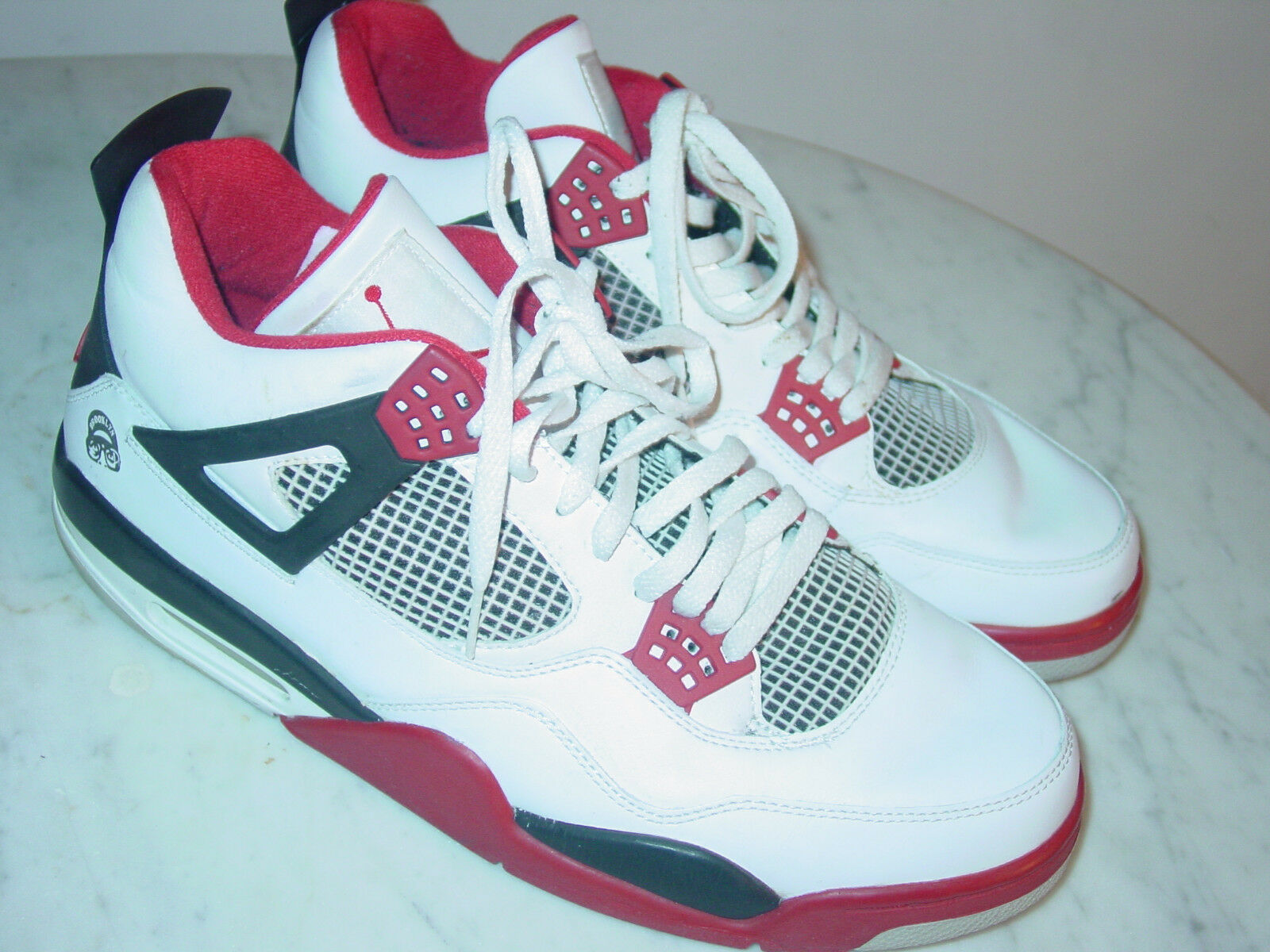 best website 7e0fc 1555f 2006 Nike Air Jordan Retro 4 Mars Mars Mars Blackmon White shoes Size 13  Sold As