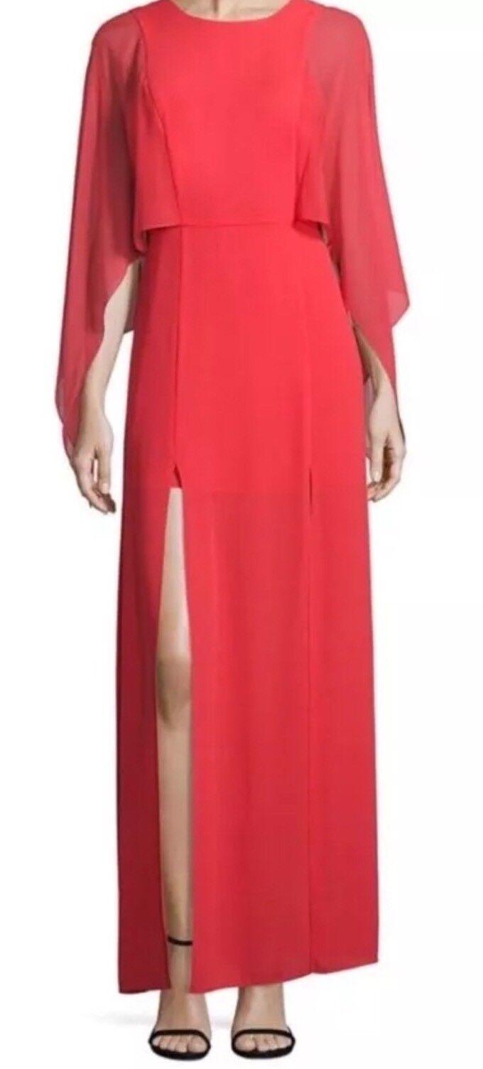 New New New with tag  298 BCBG Max Azria Doriana Cape WQR64K70 Dress 0a9f07